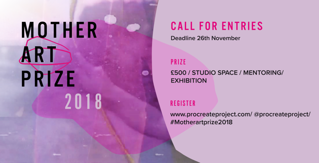 Mother Art Prize 2018 Call for entries - Procreate Project